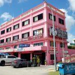 グアムでビーチよりも人気の撮影スポットはピンクの壁のタモントレードセンター!
